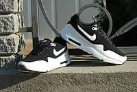 Кроссовки Nike Zero\Найк Зеро, черно-белые, к11007