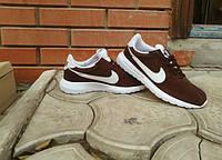 Кроссовки Nike Cortez\Найк Кортез, коричневые, к11024