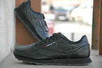 Кроссовки Reebok Classic Black\Рибок Классик Черные, к11028