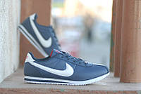 Кроссовки Nike Cortez\Найк Кортез, синие, к11092