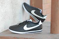Кроссовки Nike Cortez\Найк Кортез, черные, к11094