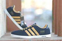 Кроссовки Adidas Gazelle\Адидас Газели, черные, к11096