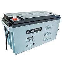 Аккумулятор AGM - 70 Ач, 12В гелевый Challenger A12-70