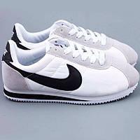 Кроссовки Nike Cortez\Найк Кортез, белые, к11171