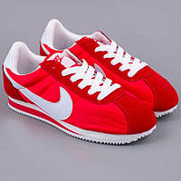 Кроссовки Nike Cortez\Найк Кортез, красные, к11173