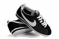 Кроссовки Nike Cortez\Найк Кортез, черные, к11174
