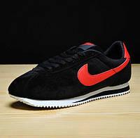 Кроссы Nike Cortez\Найк Кортез, черные, к11214