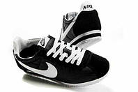 Кроссы Nike Cortez\Найк Кортез, черные, к11215