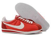 Кроссы Nike Cortez\Найк Кортез, красные, к11216