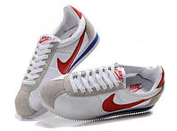 Кроссы Nike Cortez\Найк Кортез, белые, к11217
