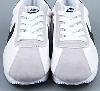 Кроссы Nike Cortez\Найк Кортез, белые, к11218