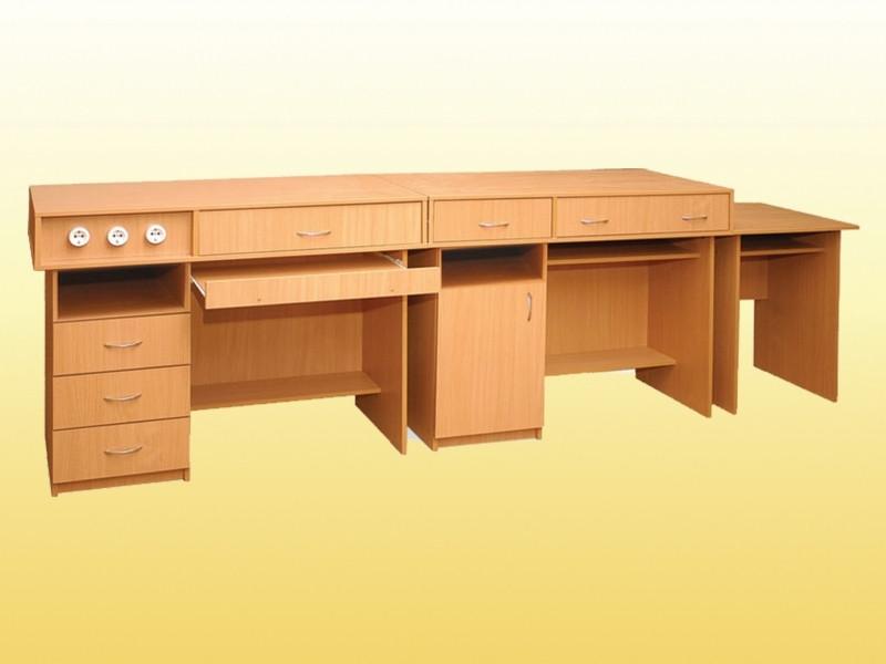 Комплект столов демонтарционных для кабинета физики (3 элемента).0198 - Центр Снабжение в Черкассах