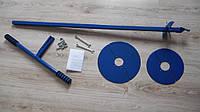 Мощный ручной бур с ножами диаметром 125, 250 и 300 мм