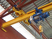 Кран-балки мостовые электрические однобалочные подвесные Q – 2т, H – 6м, L – 9м