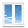Окно двухстворчатое Rehau 1200х1400 ПВХ Ecosol 70 с энергоэффективным стеклопакетом 4/10/4/10/4и + Аргон