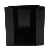 Подставка, бокс под бумагу, черный 85 х 85х9 см