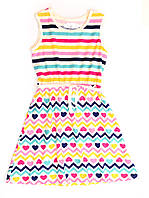 Платье для девочки подростка 16-2 полоска