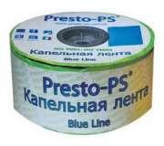 Щілинна крапельна стрічка Presto Blue line 7mil 20 см