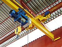 Кран-балки мостовые электрические однобалочные подвесные Q – 3,2т, H – 6м, L – 12м