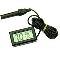 Термометр гигрометр цифровой с выносным датчиком