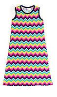 Платье для девочки подростка 16-3 зиг-заг