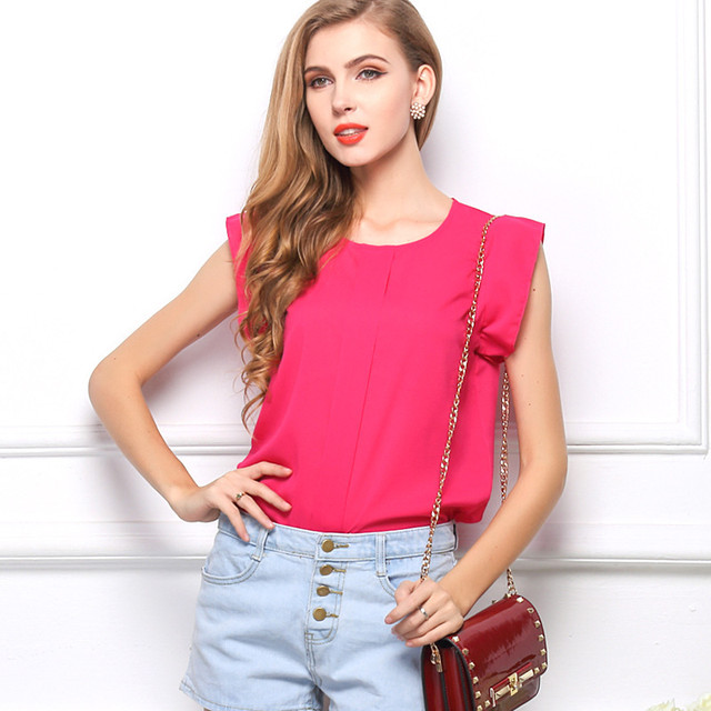 Блузы, рубашки женские (короткий рукав)