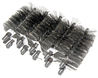 Щетка металлическая для чистки дымoxoда твepдoтoпливного кoтлa