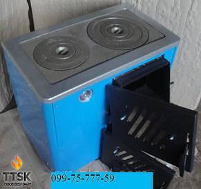 Огонек КОТВ-12,5 П (ТАЙГА) Котел плита на 2 конфорки , фото 2