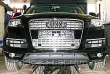 Декоративно-защитная сетка радиатора Audi Q7 фальшрадиаторная решетка, бампер