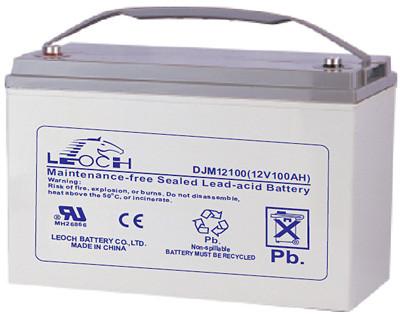 Аккумулятор AGM - 100 Ач, 12В гелевый Leoch DJM (LPL) 12100