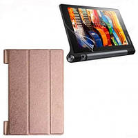 Кожаный чехол-книжка для планшета Lenovo Yoga Tablet 3-X50 10'' TTX Elegant Series  Золотой