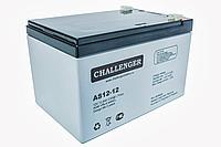 Аккумулятор AGM - 12 Ач, 12V гелевый Challenger AS12-12