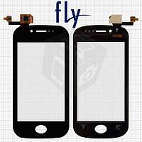 Touchscreen (сенсорный экран) для Fly IQ448, оригинальный (черный)
