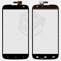 Touchscreen (сенсорный экран) для Gigabyte GSmart Saga S3, черный, оригинал