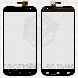 Touchscreen (сенсорный экран) для BLU Studio 6.0 D650 / D651L / D651U, черный, оригинал