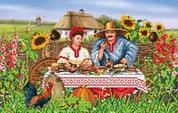 """БИС 3712 Рисунок на ткани для вышивки бисером """"Welcome to Ukraine!"""""""