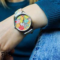 Женские наручные часы «Зимние коты»