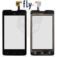 Touchscreen (сенсорный экран) для Fly IQ449 Pronto, черный, оригинал