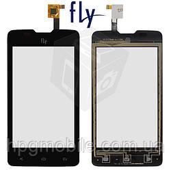 Сенсорный экран для Fly IQ449 Pronto, черный, оригинал
