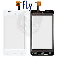 Touchscreen (сенсорный экран) для Fly IQ449 Pronto, оригинал, белый