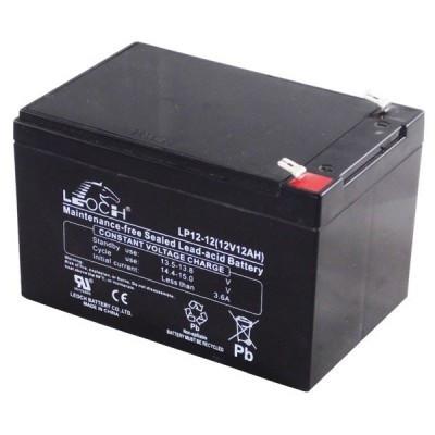 Аккумулятор AGM - 12 Ач, 12В гелевый Leoch DJW 12-12