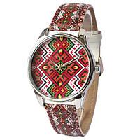 Женские наручные часы «Этно красные», фото 1