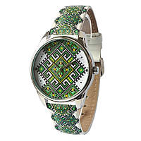 Женские наручные часы «Этно зеленые», фото 1
