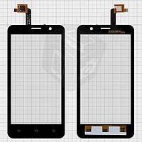 Touchscreen (сенсорный экран) для Newman K1W, оригинал (черный)