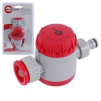 Таймер для подачи воды с сеточным фильтром, внутренней резьбой на входе 3/4, 15;30;45;60;75;90;105;120мин, на конектор 1/2, автоматическое отключен