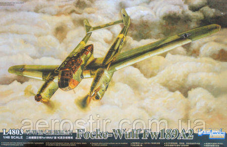 Сборная модель самолета  Fw- 189A2 ' РАМА'       1\48      GWH