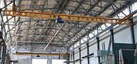 Кран-балки мостовые электрические однобалочные подвесные Q – 10т, H – 6м, L – 6м