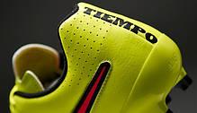 Бутсы  Nike Tiempo Genio Leather FG 631282-770, Найк Темпо (Оригинал), фото 2