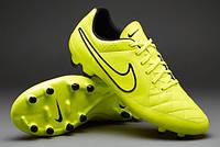 Бутсы  Nike Tiempo Genio Leather FG 631282-770, Найк Темпо
