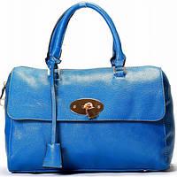 Женская сумка  Mulberry style синяя